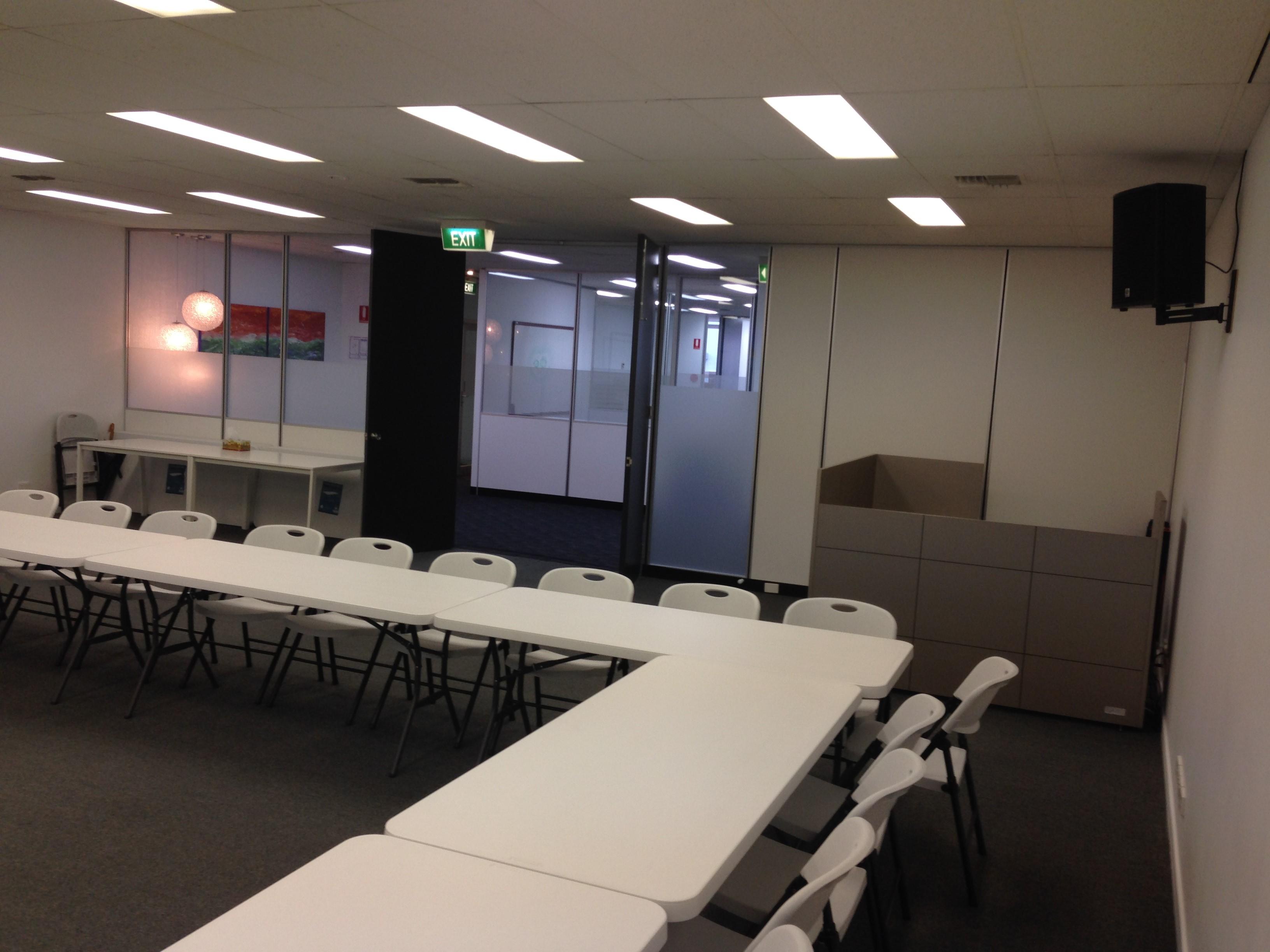 Back of seminar room